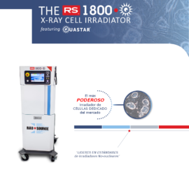 RS 1800 irradiador de células